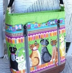 The Guardian handbag pattern