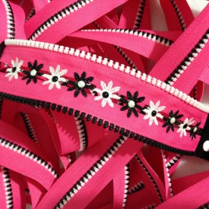 Think pink zippers