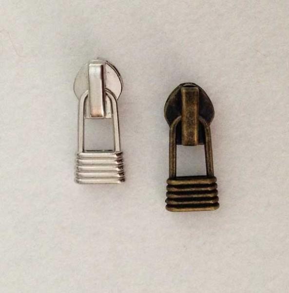 #5 Metal Coil Zipper Pulls