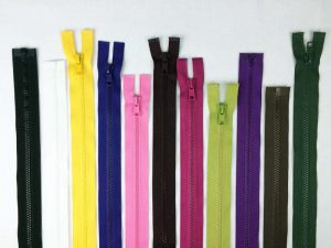 #5 Plastic separating zippers 36""
