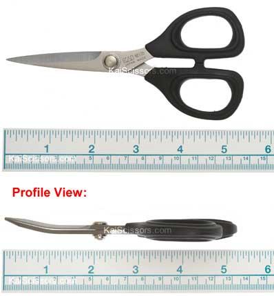 Kai Scissors - curved blade