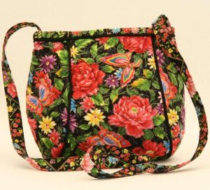 pocket pouch quilted rose - web